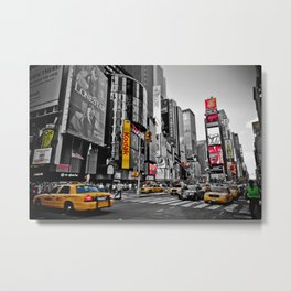 Times Square - Hyper Drop Metal Print