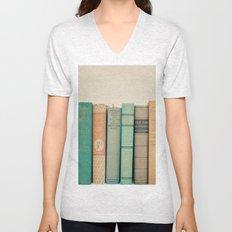 Literary Gems I Unisex V-Neck