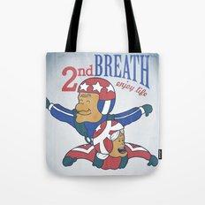 Second Breath Tote Bag