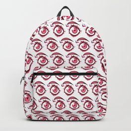 Pink Eye Backpack