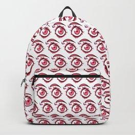 Pink Eye Backpack