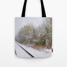 Remnants of a Simpler Time - The Tracks Tote Bag
