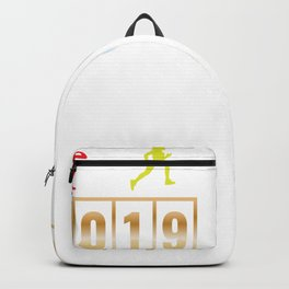 2019 2020 Happy New Year 2020 January 1st Fireworks Resolution Holiday Christmas T-shirt Design Backpack