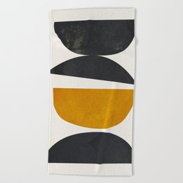 abstract minimal 23 Beach Towel