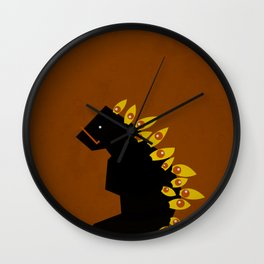 Miradas de Odio - Hate´s Looks Wall Clock