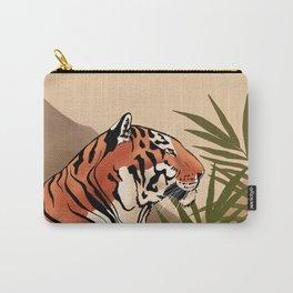 Tiger Boho Landscape Carry-All Pouch