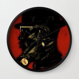 Black Man Magic Wall Clock