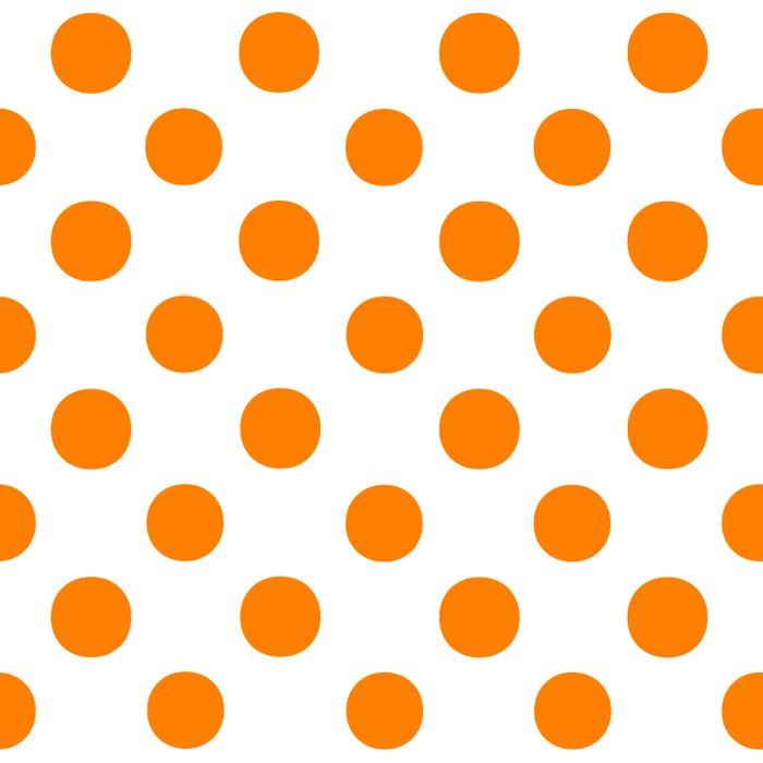 Polka Dots (Orange/White) Comforters