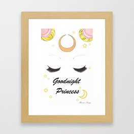 Goodnight Princess Framed Art Print