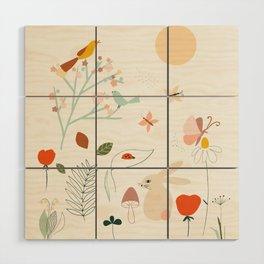 Meadow Blossom Wood Wall Art