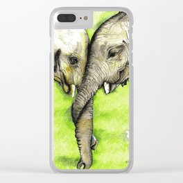 Trunk Trouble Clear iPhone Case