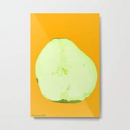Pear Twin One Metal Print