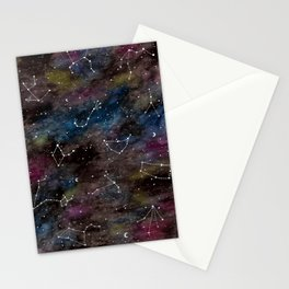 Zodiac Constellations Stationery Cards