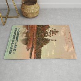 Grundy Lake Provincial Park Poster Rug