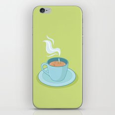 Hot Coffee, Not! iPhone & iPod Skin