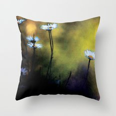 Fleurs des champs colors urban fashion culture Jacob's 1968 Paris Agency Throw Pillow