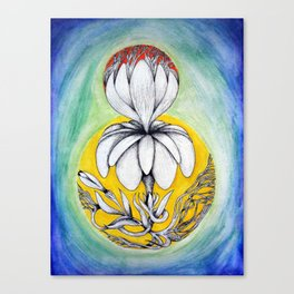 Flower Fantasy Canvas Print