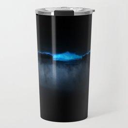 bioluminescent ocean Travel Mug
