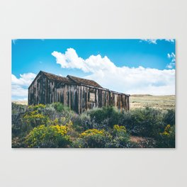 Colorful Day in Bodie Canvas Print
