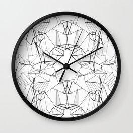 Fierce Angles Wall Clock
