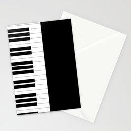 Piano Keys Stationery Cards