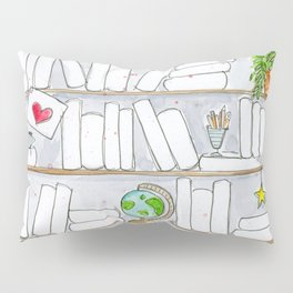 Signature Reads Bookshelf Pillow Sham