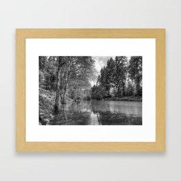 Soudley Ponds Framed Art Print