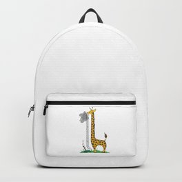 Long Long Giraffe Bong Backpack