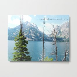 Grand Teton national Park landscape photography Metal Print