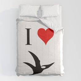 I Love Dinosaurs - Pterodactyl Comforters