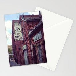 Blues Alley (Washington, DC) Stationery Cards