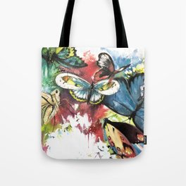 Butterfly Central Tote Bag