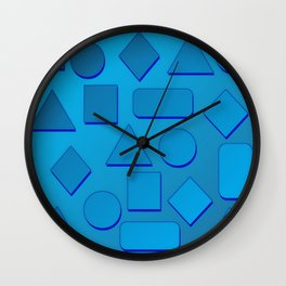 0807 Play with gradient and forms 2 ... Wall Clock