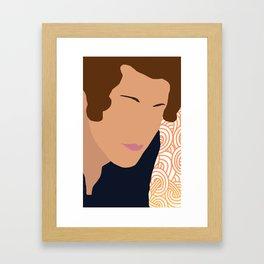Simple Harry  Framed Art Print
