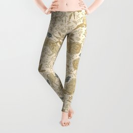 Countryside lodge view Leggings