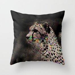 Abstract Animal - Cheetah Throw Pillow