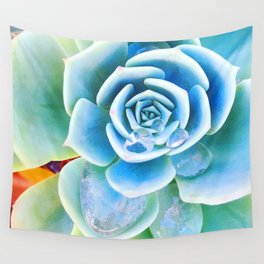 Succulent Tears Wall Tapestry