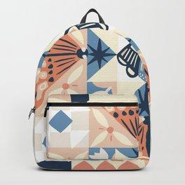 Moth Quilt Backpack