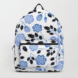 Spring Blues - Roses Backpack