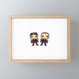 Bucks Framed Mini Art Print