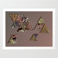 mineral Art Prints featuring mineral by Elva Salinas