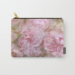 Vintage English Roses Carry-All Pouch