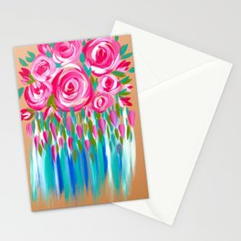 Chic Roses Stationery Cards