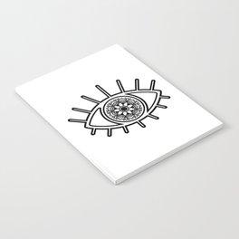 Mandala Evil Eye Notebook
