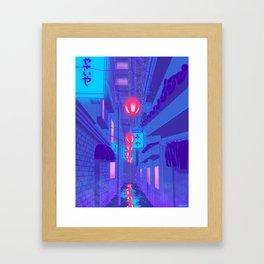 Shibuya Nights Framed Art Print