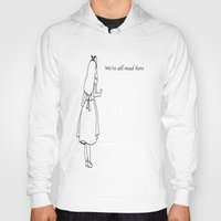 alice wonderland Hoodies featuring Wonderland by Godinsky