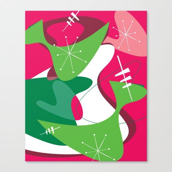 Retro Romp Canvas Print
