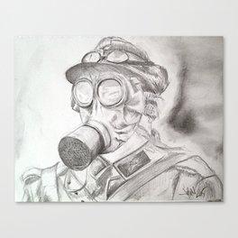 World War I - Gas Mask (WWI) Canvas Print