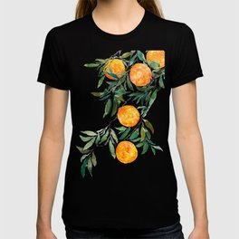 orange watercolor T-shirt