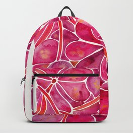 Orchid Wall – Magenta Palette Backpack